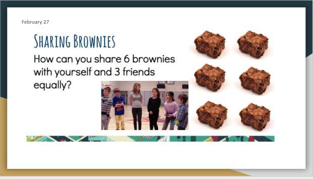 Brownies Sharing