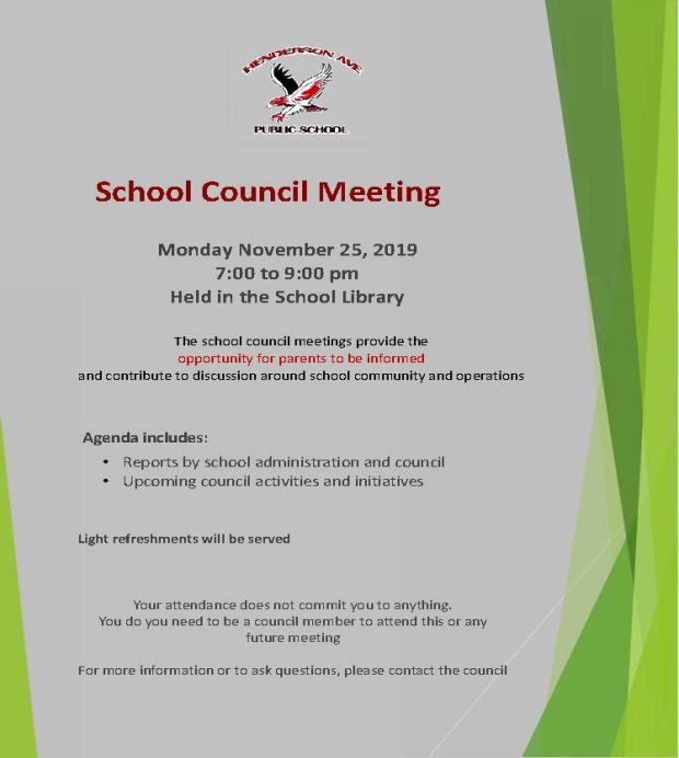 Nov Meeting Notice
